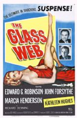 The Glass Web 1953 DVD - Edward G. Robinson / John Forsythe